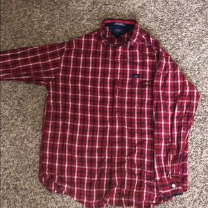 Tommy Jeans Plaid Button Down By Tommy Hilfiger